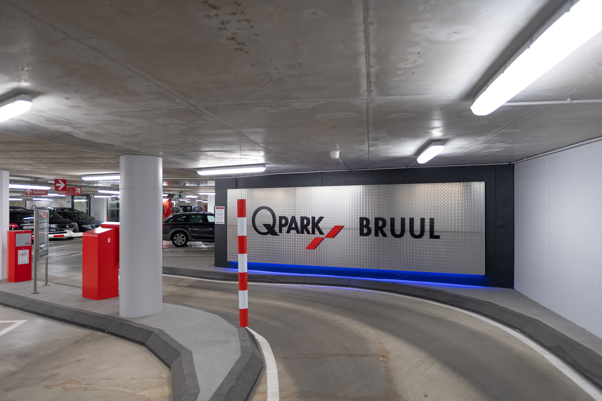 Evip onderhoudt elektrische installaties van Q-Park parkings